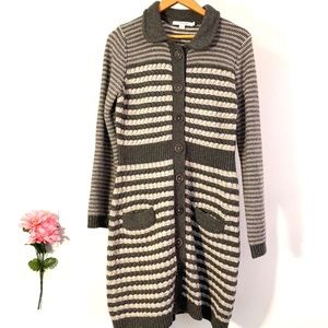BODEN Button Up Sweater